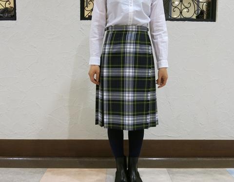 2014年 二個ベルトキルトスカートです。_c0227633_12371717.jpg