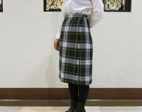 2014年 二個ベルトキルトスカートです。_c0227633_12374174.jpg