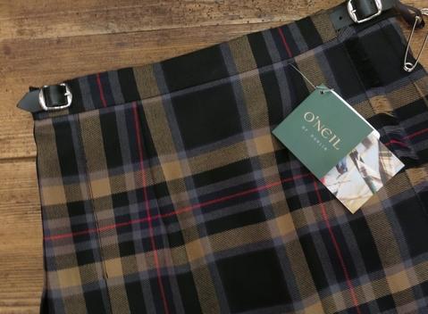 2014年 二個ベルトキルトスカートです。_c0227633_12391880.jpg