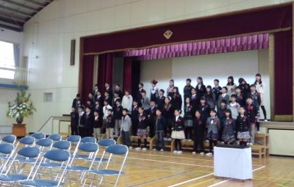 北巣本小学校で卒業式 : 日本共...