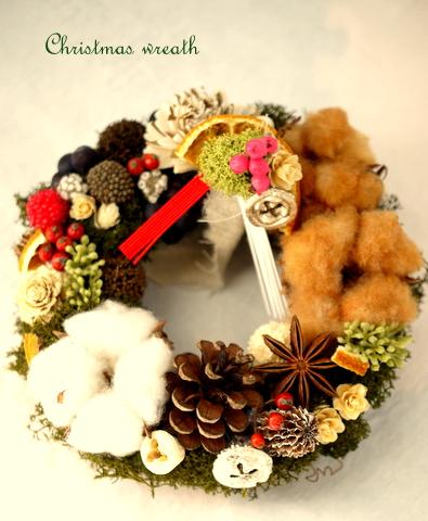 クリスマス&お正月リースのワークショップ_c0199544_22303895.jpg