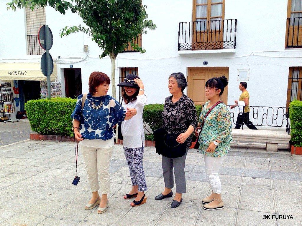 スペイン旅行記 15   白い村  ミハス_a0092659_19552393.jpg