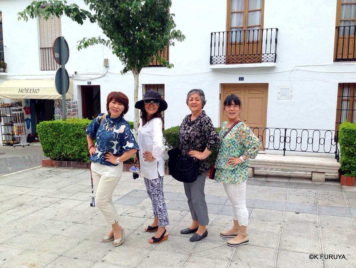 スペイン旅行記 15   白い村  ミハス_a0092659_19555692.jpg