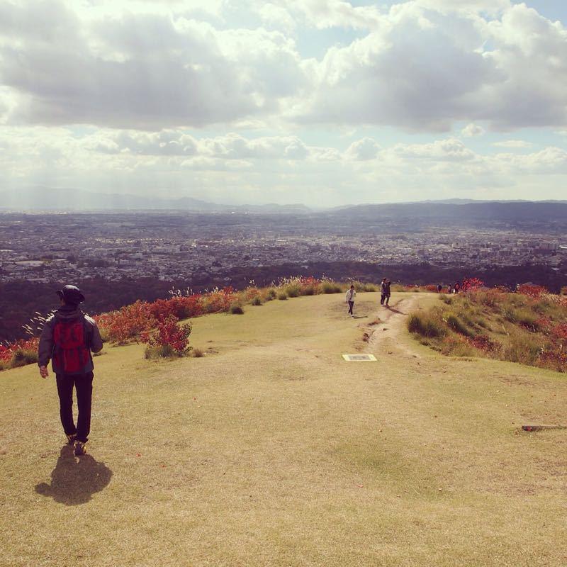 奈良の若草山へハイキング_b0277377_1122425.jpg