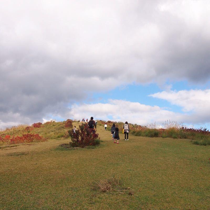 奈良の若草山へハイキング_b0277377_1122583.jpg