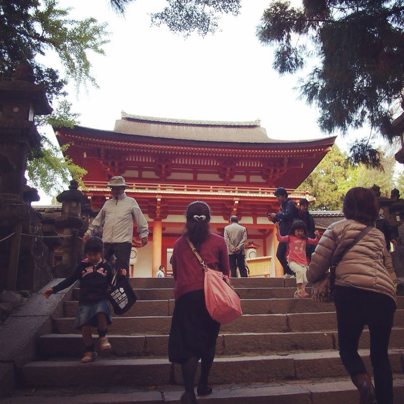 奈良の若草山へハイキング_b0277377_1122939.jpg