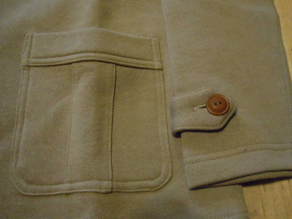 "DAPPER\'S   \""Classical Four-Pockets Sweat Cardigan\""_b0278148_1482044.jpg"