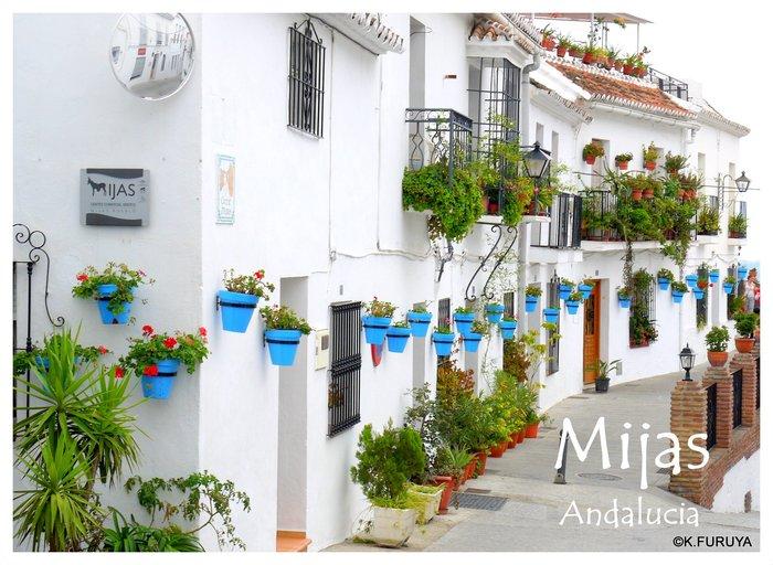 スペイン旅行記 15   白い村  ミハス_a0092659_15212212.jpg