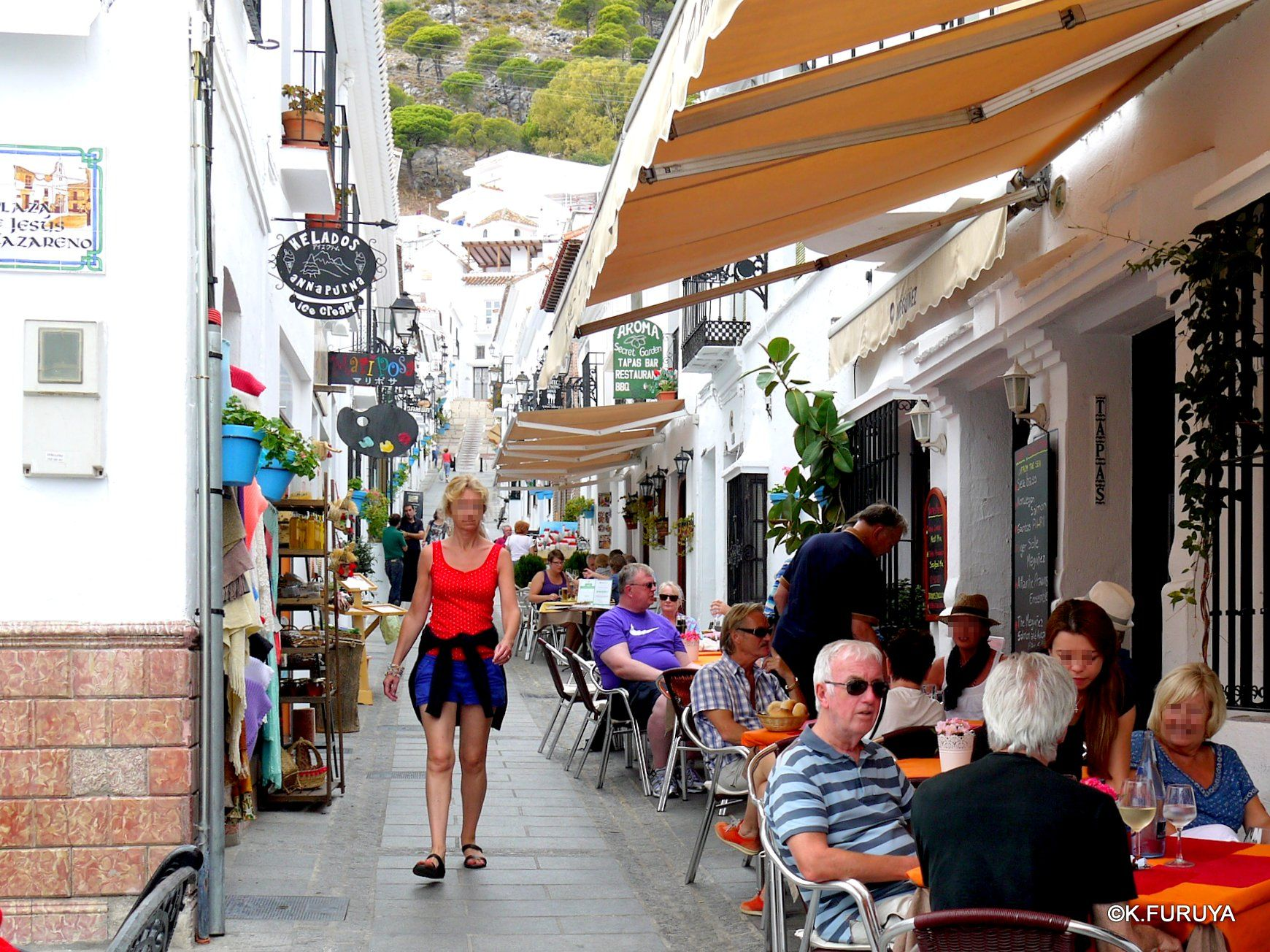 スペイン旅行記 15   白い村  ミハス_a0092659_15344146.jpg