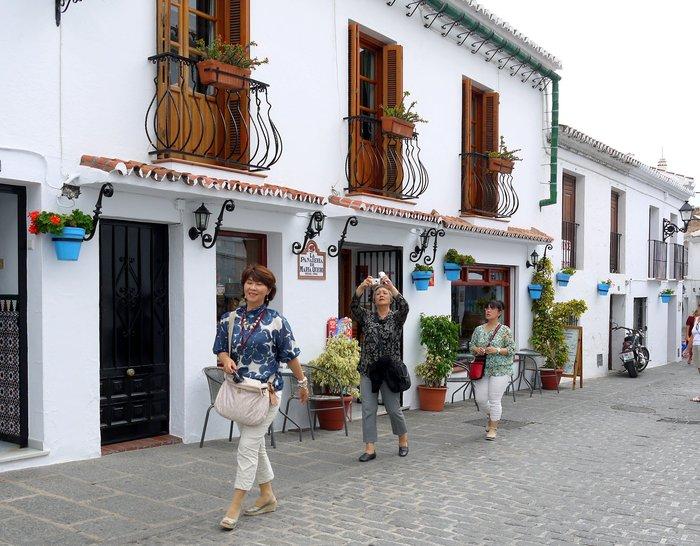 スペイン旅行記 15   白い村  ミハス_a0092659_15443336.jpg