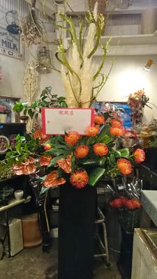 和食店のopenお祝いに....._e0149863_13143254.jpg