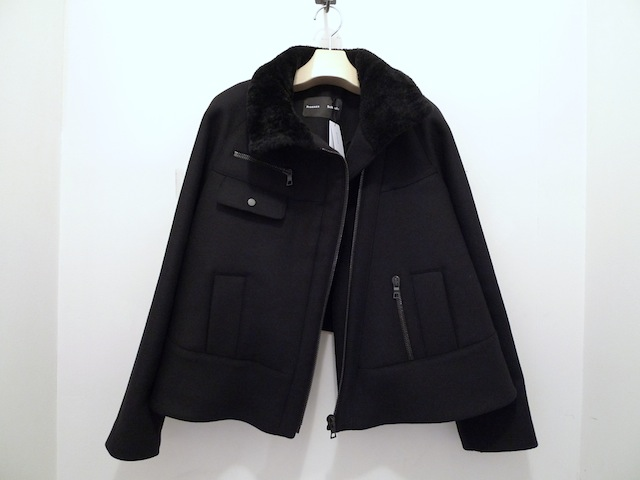 PROENZA SCHOULER WOOL CASHMERE COATING RIDERS COAT_f0111683_13330761.jpg