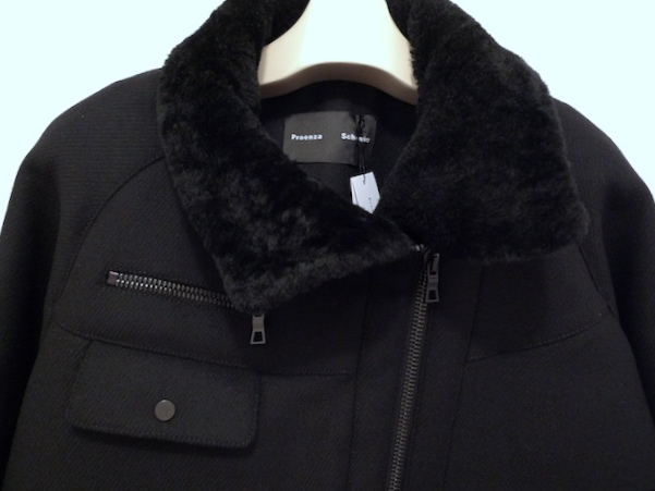 PROENZA SCHOULER WOOL CASHMERE COATING RIDERS COAT_f0111683_13331444.jpg