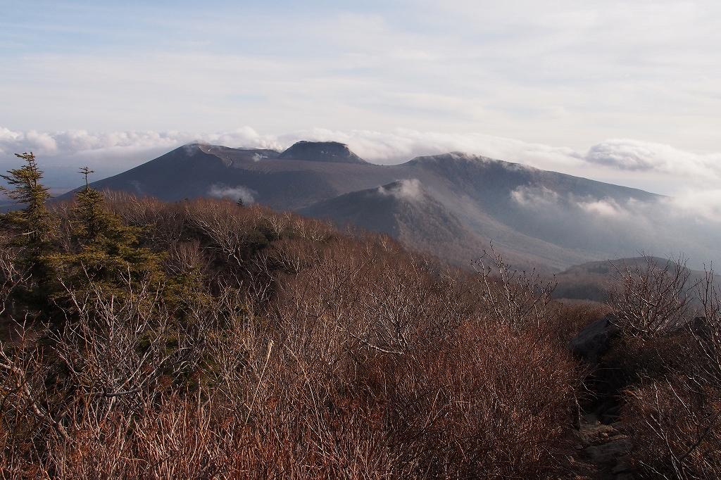 風不死岳と樽前山、11月11日-風不死岳編-_f0138096_21121855.jpg