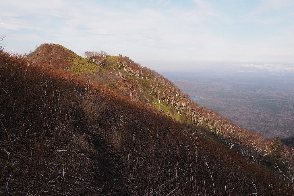 風不死岳と樽前山、11月11日-風不死岳編-_f0138096_21123483.jpg
