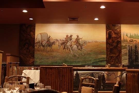 家族旅行2014年08月-北米-イエローストーン・グランドティトン-第五日目-ジャクソンレイクの夕暮れとロッジ_c0153302_15491108.jpg