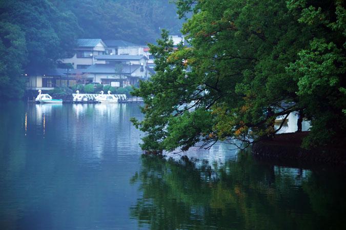 伊豆高原 一碧湖の紅葉1_a0263109_20394685.jpg