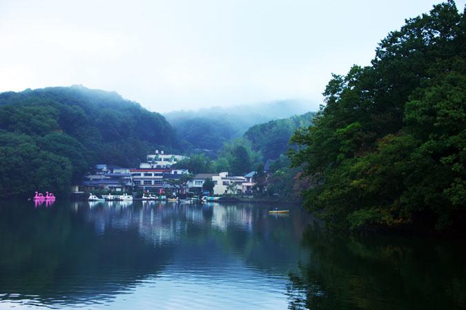 伊豆高原 一碧湖の紅葉1_a0263109_20394886.jpg