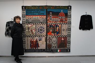 「石井麻子 秋のニットアート展」開催中です_f0171840_1215258.jpg
