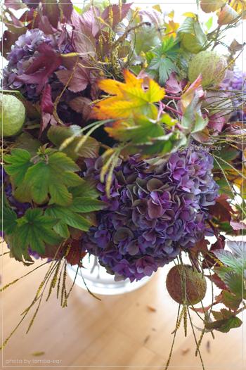 小さな秋で大っきなブーケ_f0151946_23311529.jpg
