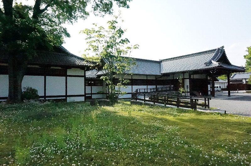 京都御苑の閑院宮邸跡_c0112559_8535338.jpg