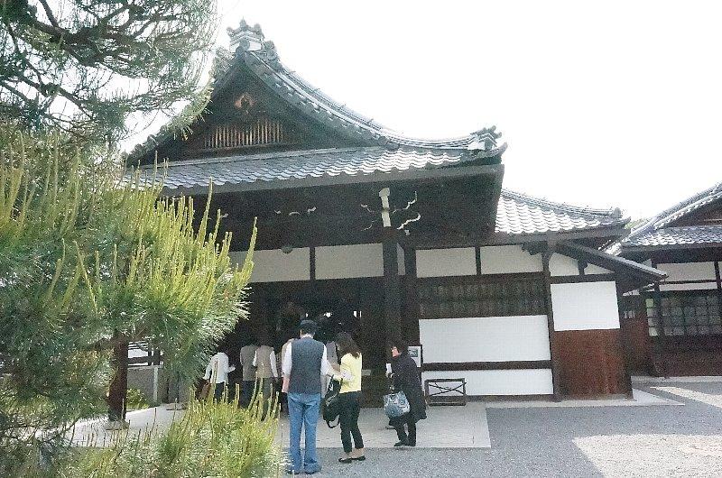 京都御苑の閑院宮邸跡_c0112559_856112.jpg