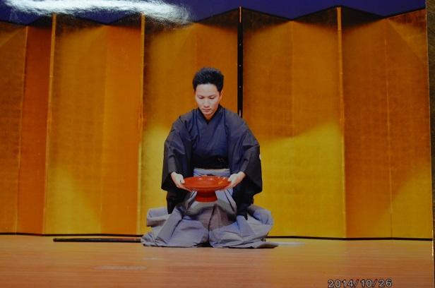 臼杵市秋の文化祭 黒田の武士_d0230676_16264393.jpg