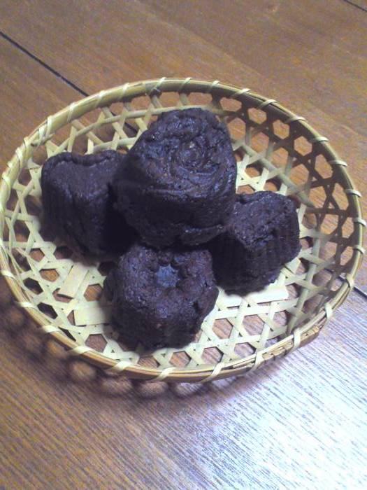 キッチン酵母でガトーショコラなど_b0057979_16594066.jpg