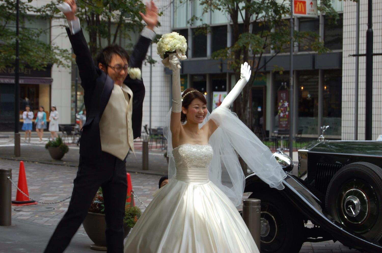 新郎新婦様からのメール 真夏のブーケ ペニンシュラ東京様へ _a0042928_23462562.jpg