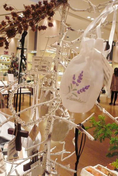 銀座三越8F バスタイム クリスマスイベント _f0111065_1254949.jpg
