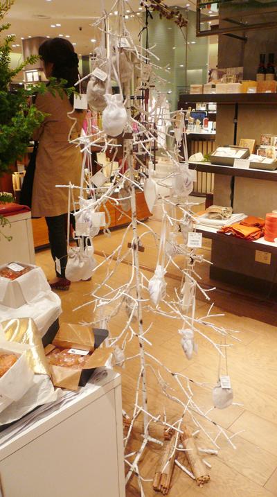 銀座三越8F バスタイム クリスマスイベント _f0111065_1255384.jpg