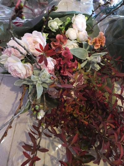 オークリーフ花の教室(落合さんと北条さんの作品)_f0049672_17294185.jpg