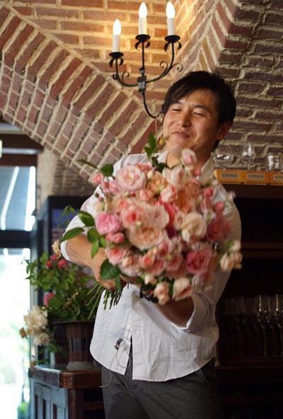 ROSE FARM KEIJI  國枝健一さんをお迎えしてのトークとデモンストレーション_f0127281_1218569.jpg