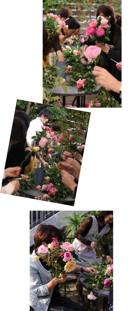 ROSE FARM KEIJI  國枝健一さんをお迎えしてのトークとデモンストレーション_f0127281_1227207.jpg