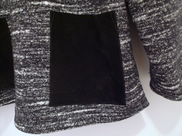 PROENZA SCHOULER BONDED WOOL BLOUSE WITH LEATHER POCKET_f0111683_12533566.jpg