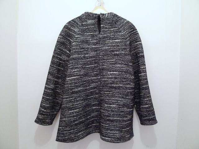 PROENZA SCHOULER BONDED WOOL BLOUSE WITH LEATHER POCKET_f0111683_12534145.jpg
