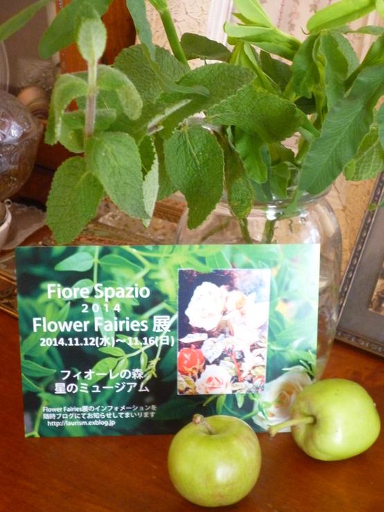 Flower  Fairies 展_a0225587_16245790.jpg