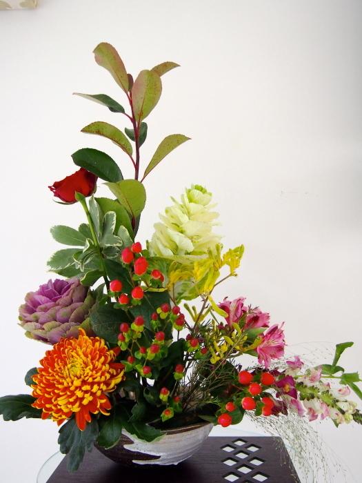 秋色のお花♪_b0313387_21382067.jpg