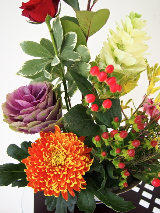 秋色のお花♪_b0313387_21473915.jpg