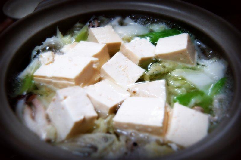 水炊き湯豆腐~~~_c0057390_2304469.jpg