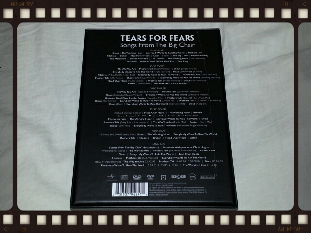 TEARS FOR FEARS / SONGS FROM THE BIG CHAIR 30th ANNIVERSARY EDITION_b0042308_1543961.jpg