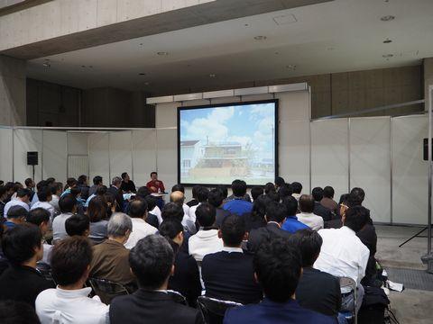 「わざわ座 大工の手」がジャパンホームショーに出展しました_a0059217_19523013.jpg