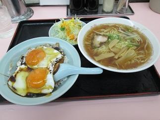 重松飯店の焼豚玉子飯_c0034228_21472040.jpg