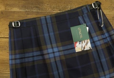 オニールオブダブリン75cmとのキルトスカートです。_c0227633_12262913.jpg