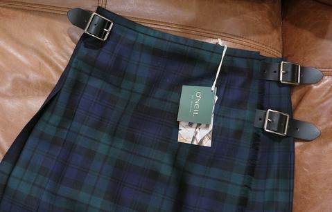 オニールオブダブリン75cmとのキルトスカートです。_c0227633_12275244.jpg
