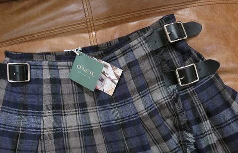 オニールオブダブリン80cmのキルトスカートです。_c0227633_12382675.jpg