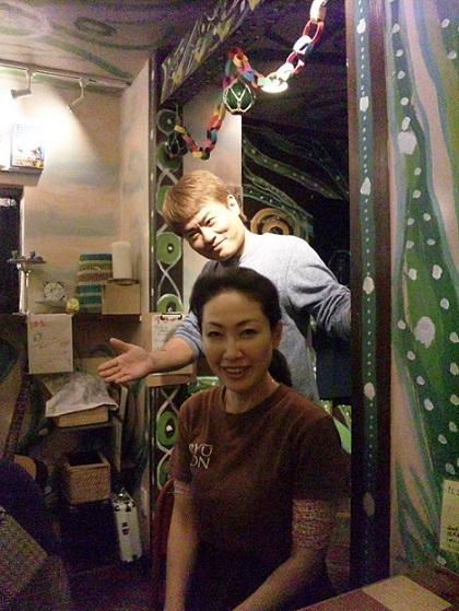 blog;東京自由が丘、デ・ラ・ルスのJINさんに会えるお店へ_a0103940_18215395.jpg