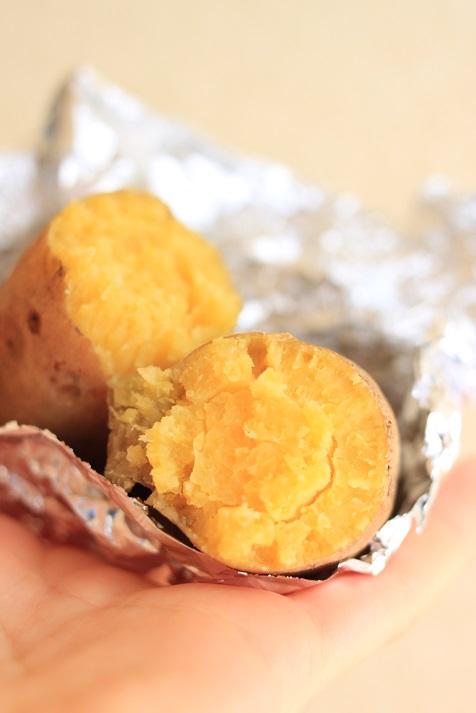 自然の都「タマチャンショップ」さんの鹿児島県産栗黄金芋をいただきました♪_a0154192_13252253.jpg