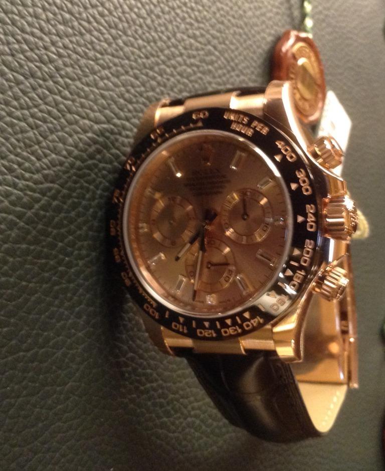 new product 89cd9 fef2e ロレックス ROLEX 新作:デイトナ ピンクゴールド ブラック ...