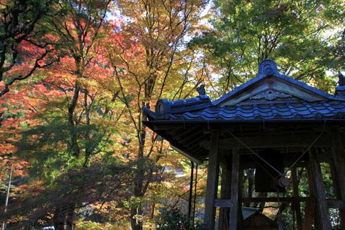 14紅葉めぐり8 京見峠から杉坂地蔵院へ_e0048413_1951485.jpg